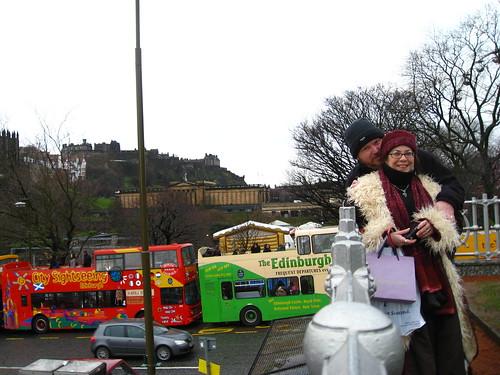 Self Portrait with Wife in Edinburgh