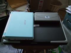 Evesham, ASUS eeePC and Psion 5mx