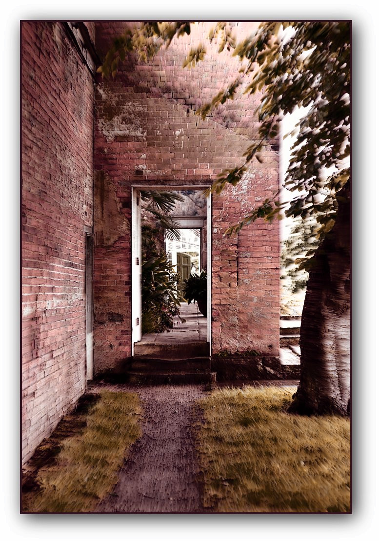 Calke Abbey doorway /2