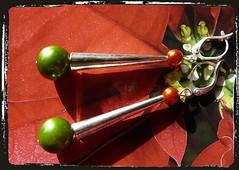 Orecchini Natale - Christmas earrings MEHNNCO