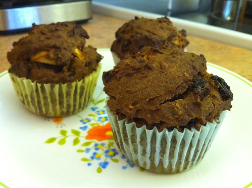 teff in muffin form