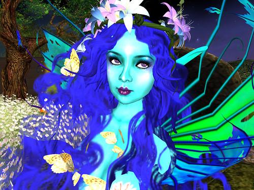 blu beauty pict by miaSnow