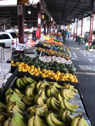 Queen Victoria Markets -- one of many produce isles
