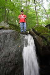 Derek at Top of the Falls