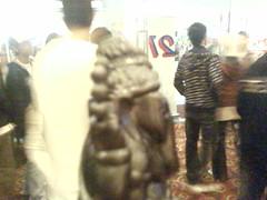 gajah ngantri tiket dark knight