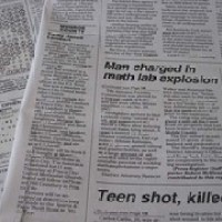 Humorous Headline: math lab explosion