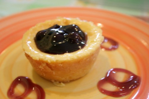 Blueberry New York Style Cheesecake at Lachi's