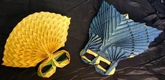 Mardi Gras Origami Masks