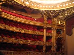 The Garnier opera house