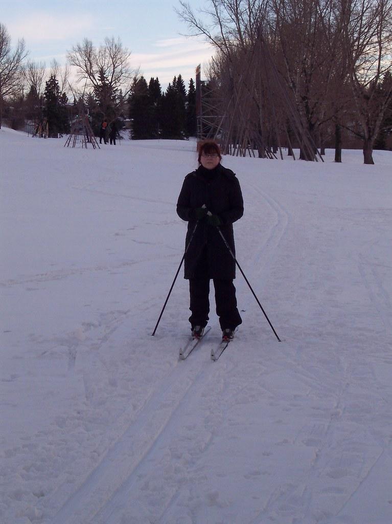 ski testing 2009-01-10