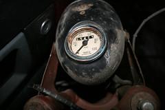 Speedometer and headlight