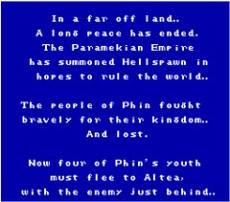 Intro del juego