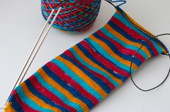 Sock with no heel