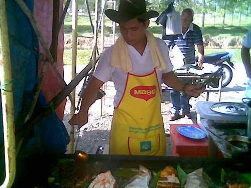 Sibu Ramadhan stall - ikan bakar 2