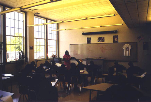 Construction Careers Center Typical Classroom
