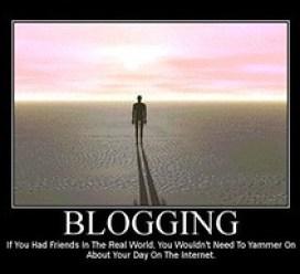 Motivational Poster - Blogging