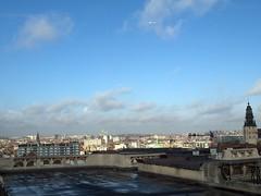 Morning November Rooftops
