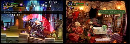 Odin Sphere Gameplay