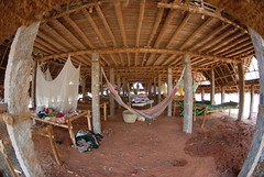The biggest dorm at Sadhana Forest