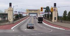 Cycling Lanes on Burarrd Bridge