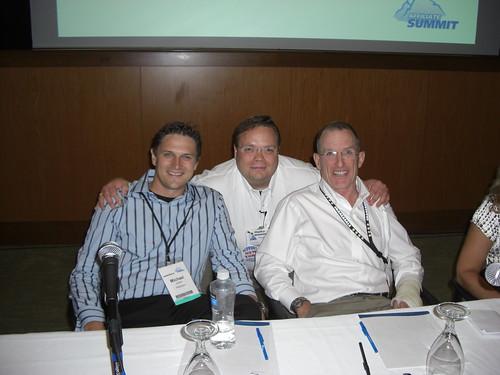 Michael Jones (Chief Operating Officer, Pepperjam), Haiko de Poel, Jr. (Managing Partner, dp internet services, LLC DBA ABestWeb), and Paul Nichols (Director of Sales, Ebates.com)
