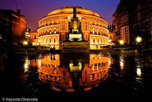 Royal Albert Hall Reflections