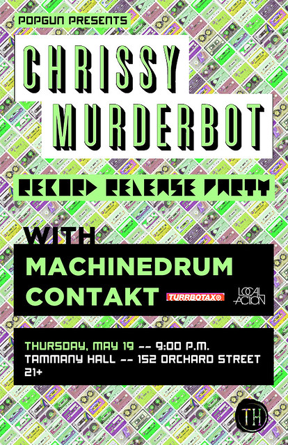 Contakt @ Chrissy Murderbot Release Party, 5/19/11