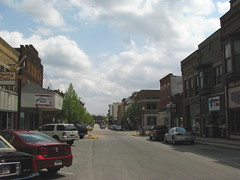 my first real taste of small town Main Street
