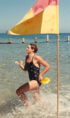 Bay swim about 1991