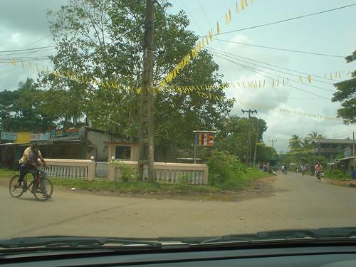 Mango Tree Junction - turn off to Dharga Town