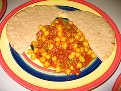 hardhatcat's chickpea curry recipe