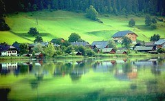Reflections on the Lake, Austria