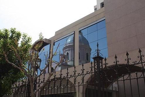 El reflejo de la catedral