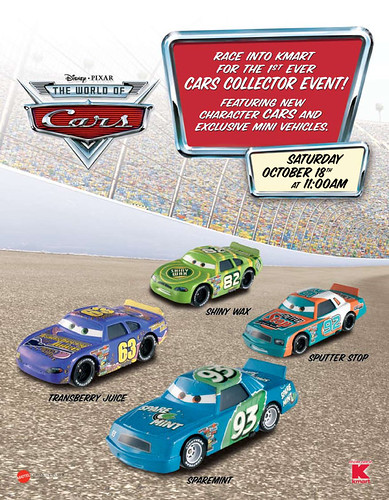 Disney/Pixar CARS KMartEvent