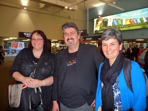 Christchurch City Libraries team