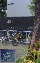 sepeda di kantor conoco philips - cilandak 1
