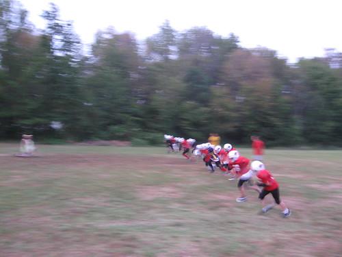 Mr. Athletics Team Running Drills