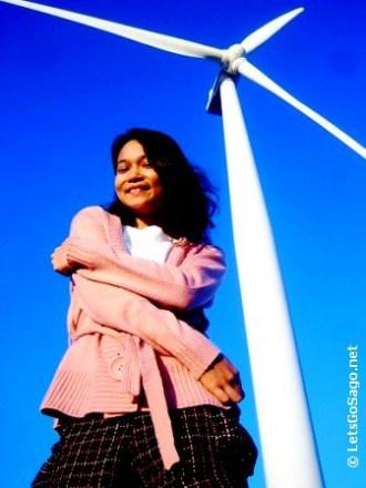Poser: Madelaine @ Bangui Windmills, Ilocos Norte