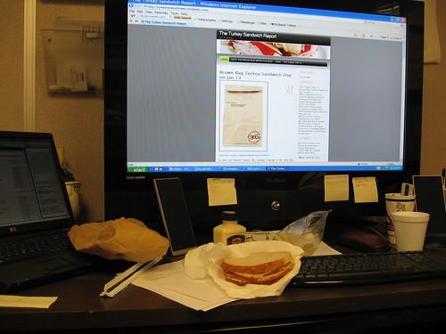 Ron Pleimann's Turkey Sandwich