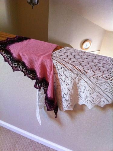 2 shawls