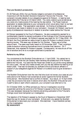 LSO Report on Michael Robson Page 2