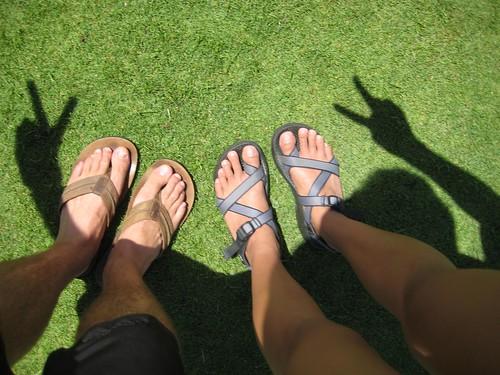 footsies and peace