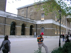 Paul at the Saatchi Gallery, Chelsea, London