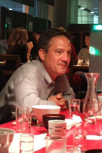 John Gauntner Sake Dinner