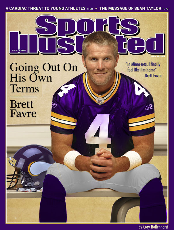 Will Brett Farve end up in Minnesota? Apparently.