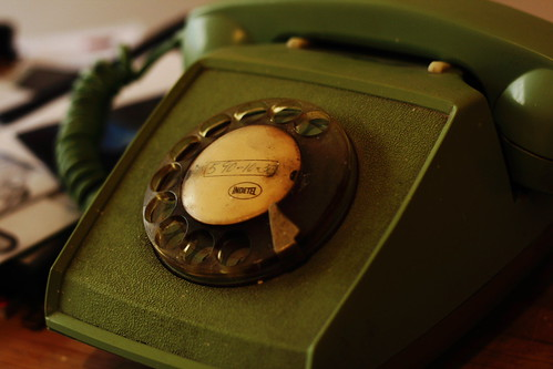 Telephone by Flickr user Esparta