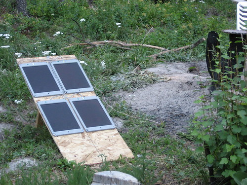 Recycled Solar Panels