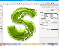 inkscape-0.47-spiro-typography
