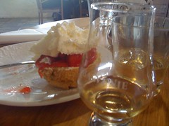Whisky and scones