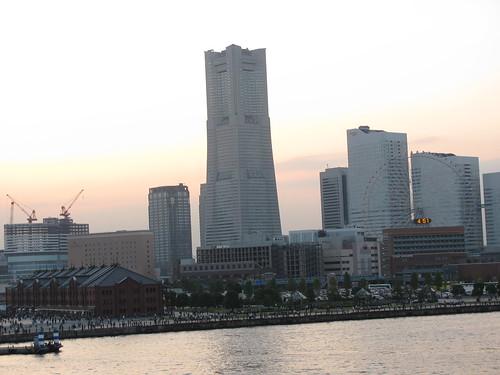 Dettaglio con la Landmark Tower, edificio più alto del Giappone (ma non ci siamo saliti...)